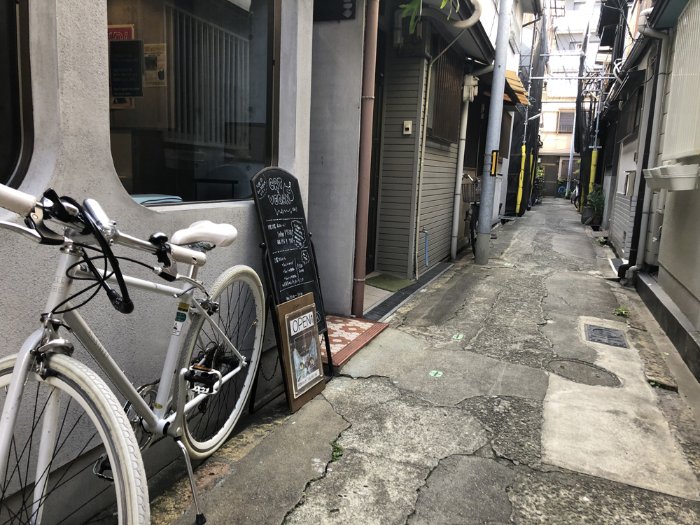 からほりは大阪の市内ながら古民家のある町並みで有名